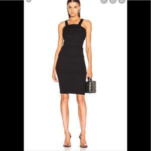 NWT Helmut Lang black layered dress. Size medium